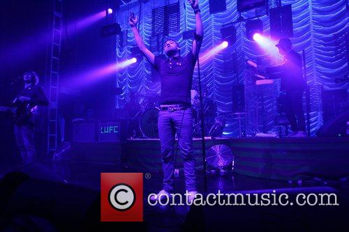 Ricky Wilson Kaiser Chiefs perform live to celebrate...