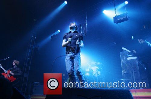 Kaiser Chiefs perform live to celebrate the launch...