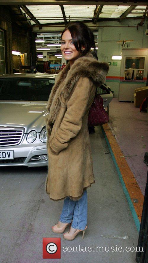 Kara Tointon who plays Dawn Swann in EastEnders...