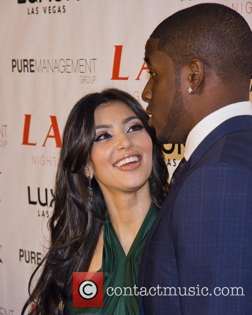 Kim Kardashian and Reggie Bush 11