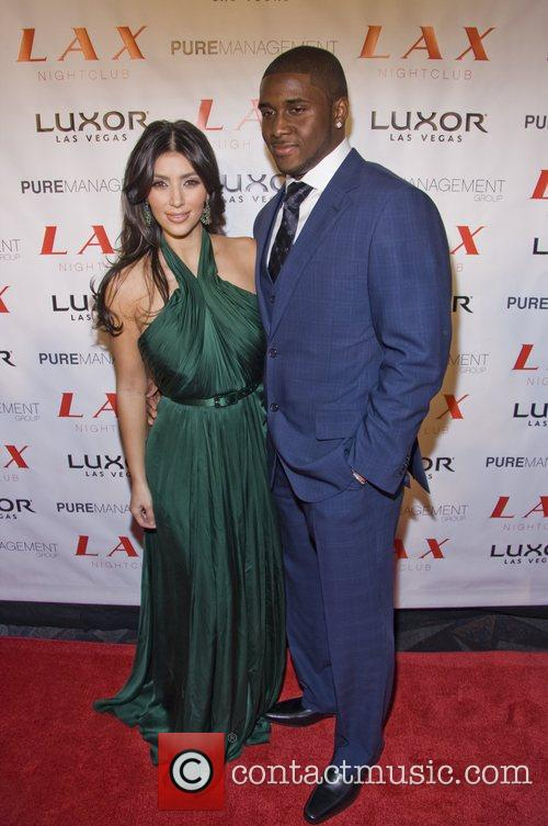 Kim Kardashian and Reggie Bush 7