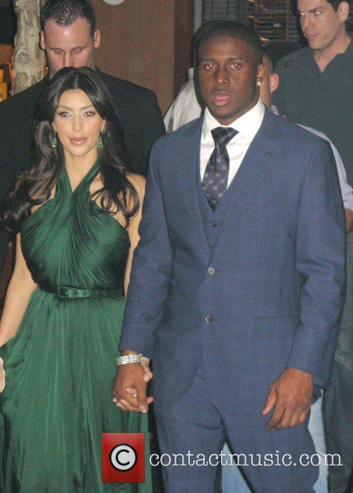 Kim Kardashian and Reggie Bush 4