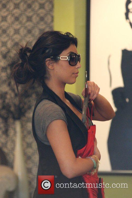 Kim Kardashian, her sister