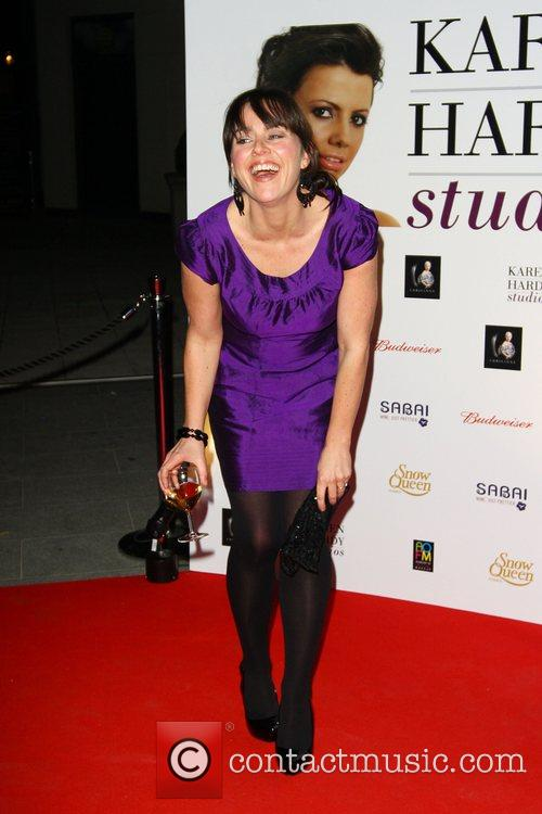 Jill Halfpenny attends a party for the launch...