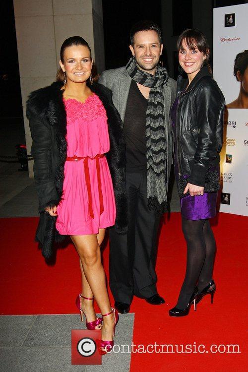 Lilie Kopylova, Darren Bennett and Jill Halfpenny attends...