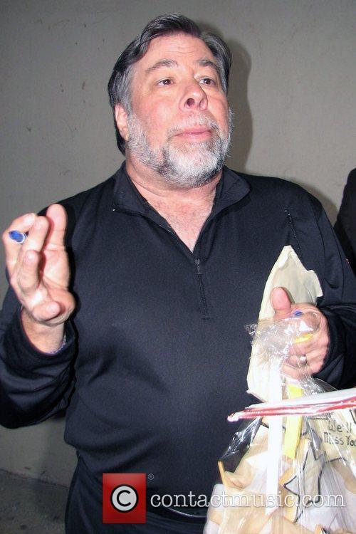 Steve Wozniak outside El Capitan theatre in Hollywood...