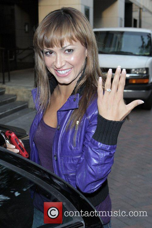 'Dancing with the Stars' professional dancer Karina Smirnoff...