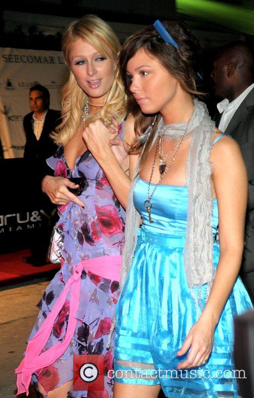 Paris Hilton and bff Brittany Flickinger The Hilton...