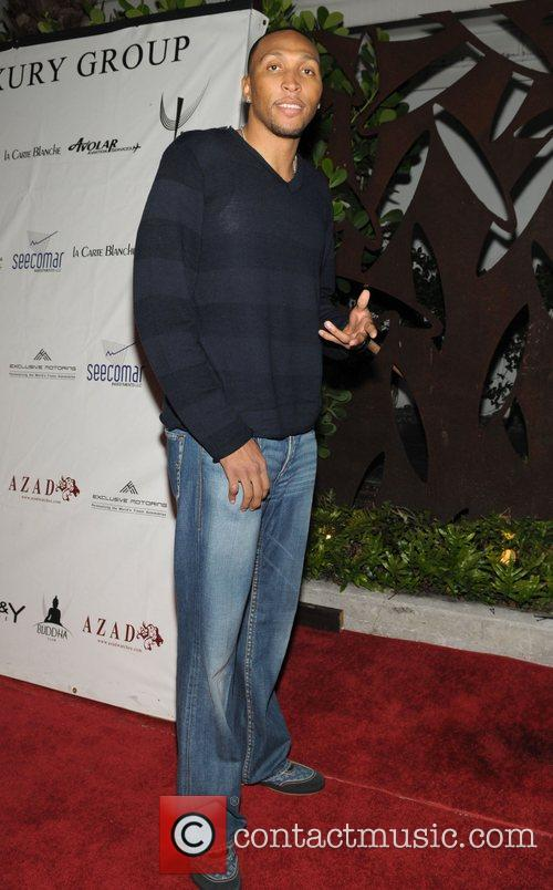 Shawn Marion  The Hilton sisters host at...