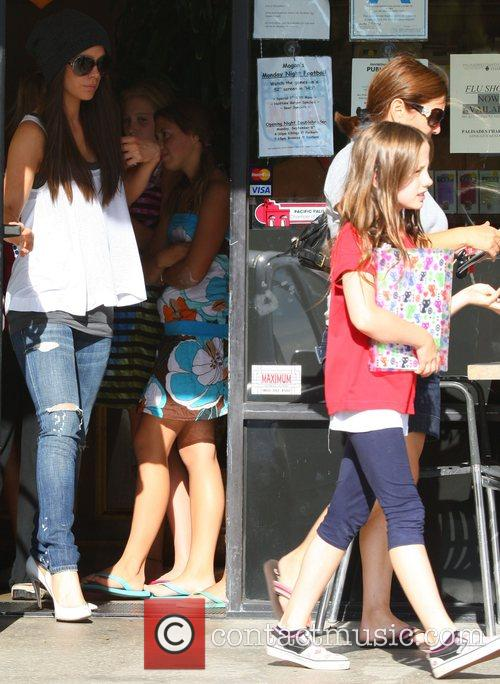 Kate Beckinsale and her daughter Lily Mo Sheen...