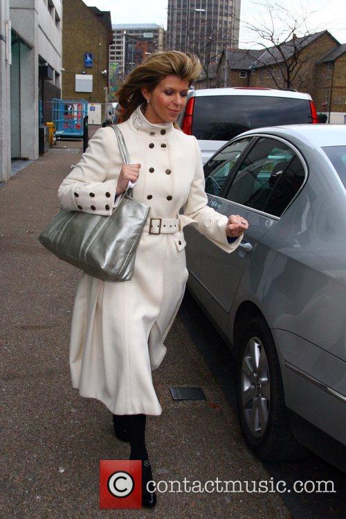 'GMTV' presenter seen leaving the ITV studios in...