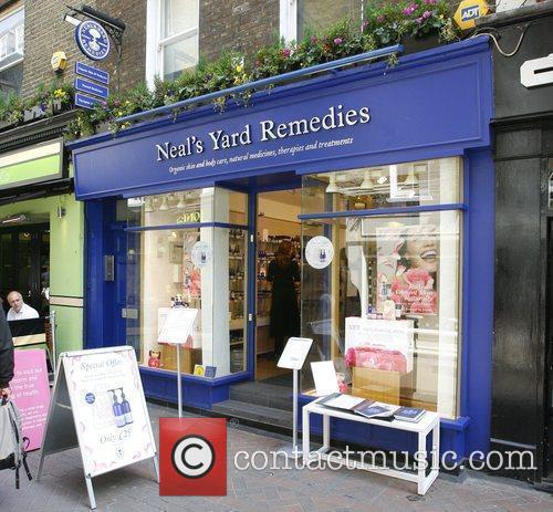 Neal's Yard Remedies store in Central London