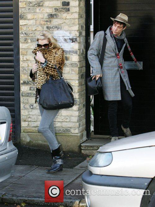 Leaving Kate's house this morning.