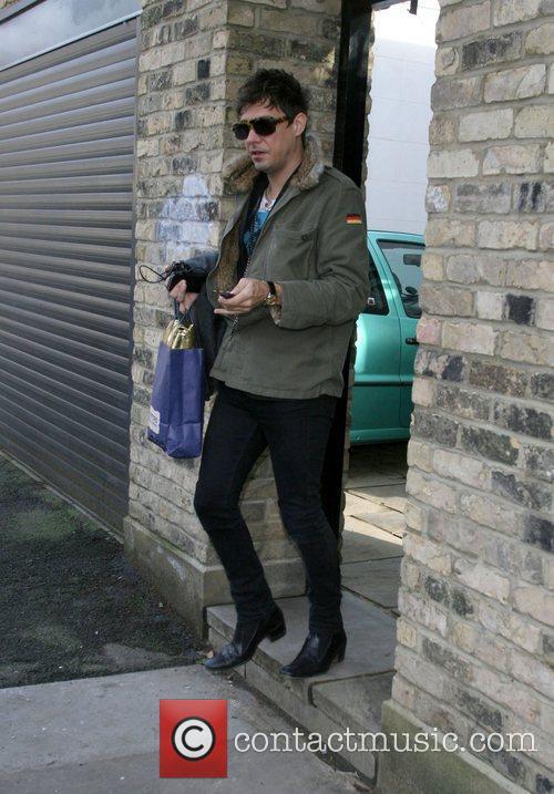 Leaving Kate Moss' house