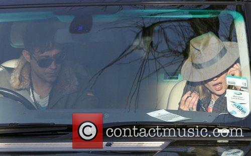 Kate Moss and Jamie Hince talk in their...