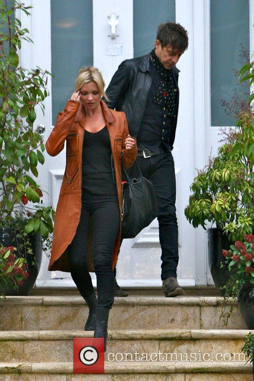Leaving Sadie Frost's house