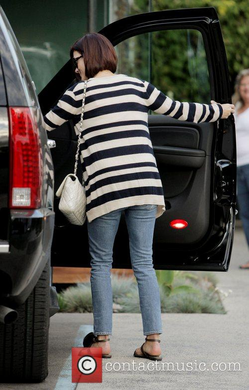 Kate Walsh  seen leaving 'Andy Lecompte Salon'...