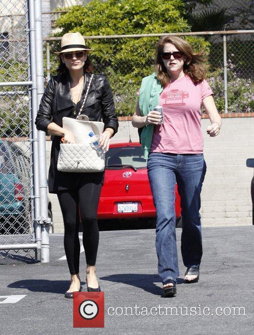 Kate Walsh and a female friend attend a...