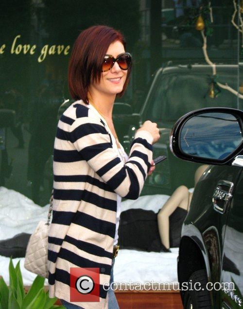 Kate Walsh leaving the Andy Lecompte Salon Los...