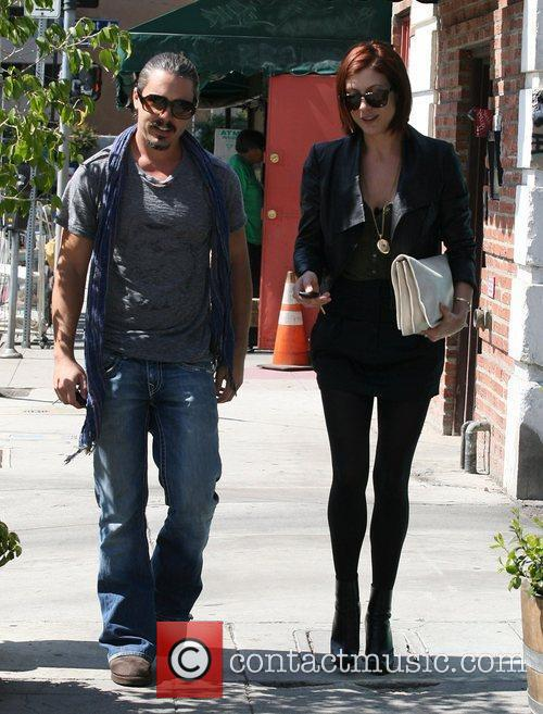 Kate Walsh out and about after having lunch...