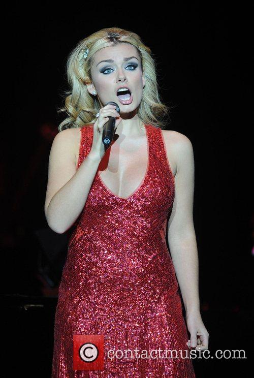 Katherine Jenkins performing live at the Brighton Centre