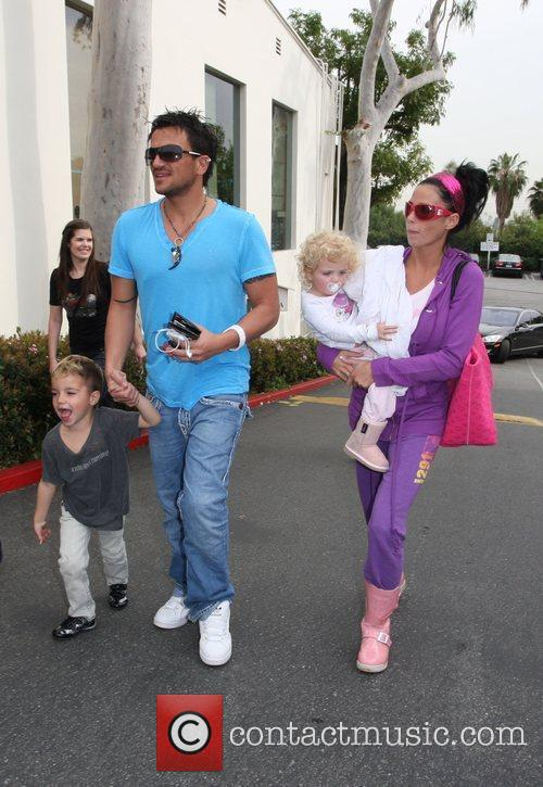 Katie Price and Peter Andre 9