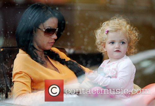 Katie Price and Daughter Princess Tiaamii 1