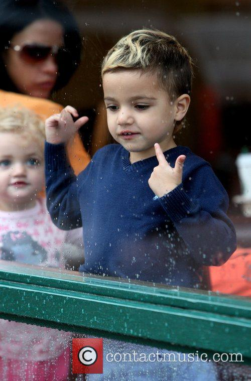Katie Price, Her Children Junior and Princess Tiaamii 10