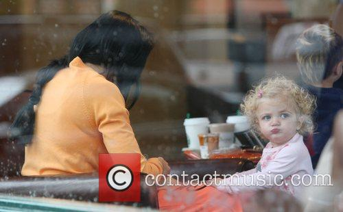 Katie Price and Daughter Princess Tiaamii 11