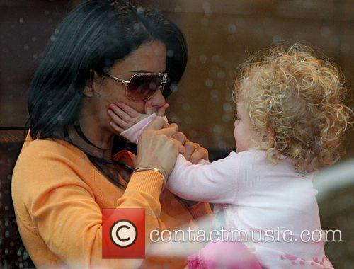 Katie Price and Daughter Princess Tiaamii 6
