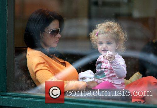 Katie Price and Daughter Princess Tiaamii 8