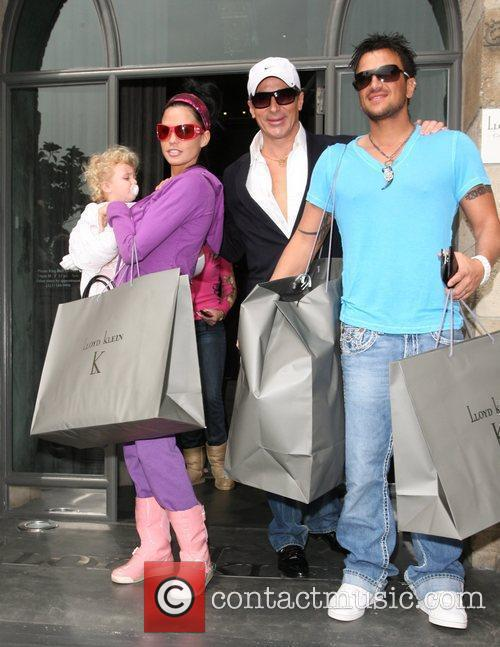 Katie Price, Peter Andre, Academy Of Motion Pictures And Sciences