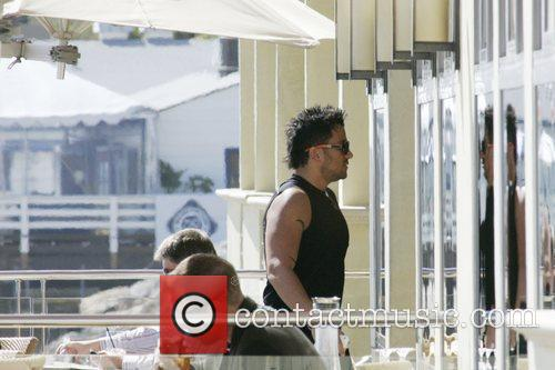 Peter Andre and Malibu Beach 3