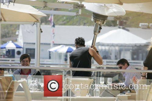 Peter Andre and Malibu Beach 7