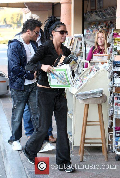 Katie Price AKA Jordan and Peter Andre buying...