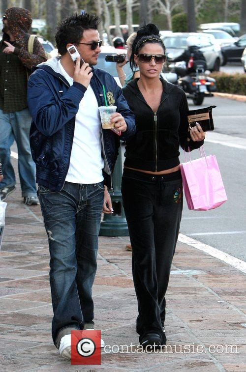 Katie Price and Peter Andre 3