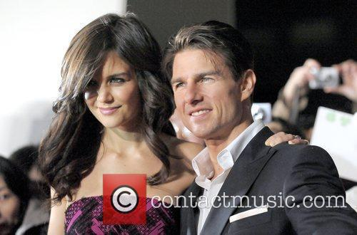 Katie Holmes and Tom Cruise The Japanese premiere...