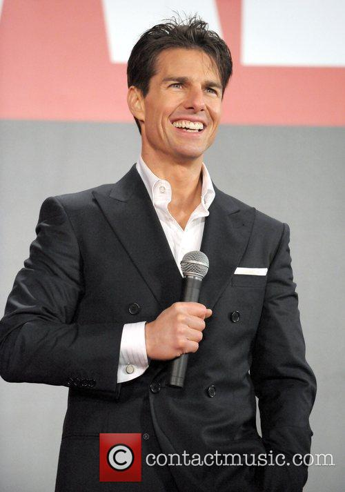 Tom Cruise The Japanese premiere of 'Valkyrie' -...