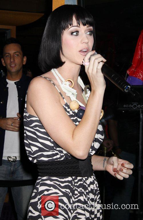 Grammy Nominee Katy Perry presented with Special Case...