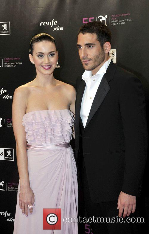 Miguel Angel Silvestre and Katy Perry