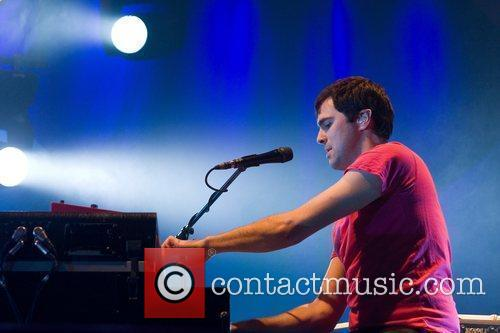 Tim Rice-Oxley of Keane  performing at the...