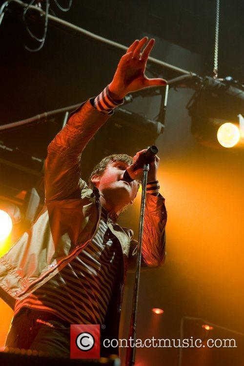 Tom Chaplin of Keane  performing at the...