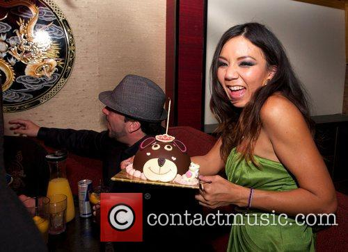 Keeani Lei  Keeani Lei celebrates her 28th...