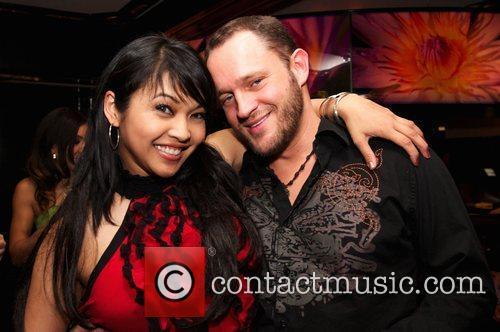 Mika Tan and Guest Keeani Lei celebrates her...