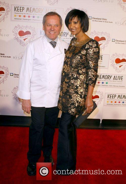 Wolfgang Puck and Gelila 1