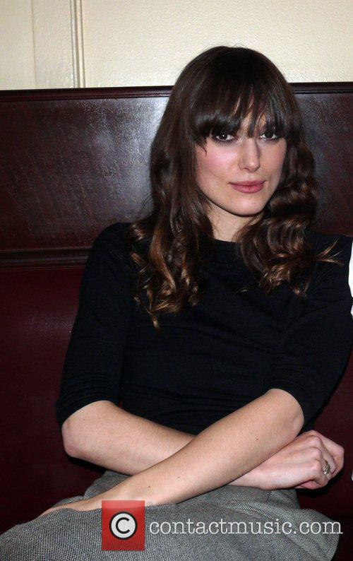 Keira Knightley Dinner after the premiere of Cheri...
