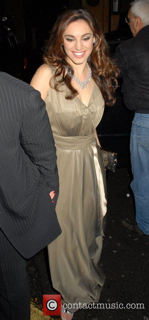 Kelly Brook  having a night out at...