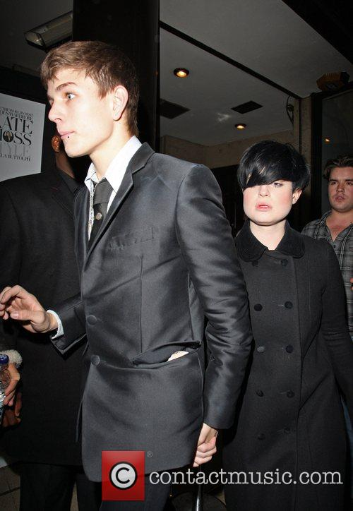 Arrive at Amika nightclub, both smartly dressed in...