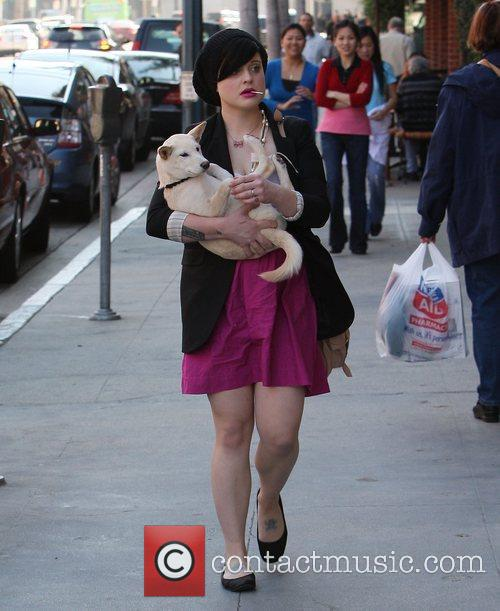 Kelly Osbourne visits a medical centre in Beverly...