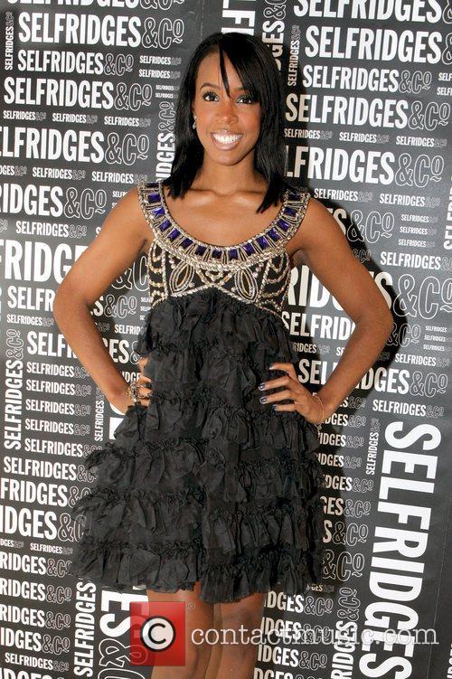 Kelly Rowland arrives at the Selfridges 5th Birthday...